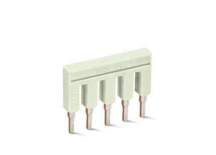 WAGO Kratkospojnik za klemu 2.5 mm2 - Push-in tipa; sa 5 mesta - Nominalna struja 25 A - 2002-405