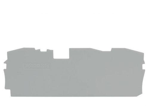 WAGO Krajnja i međuploča - debljine 1 mm - za kleme sa 3 provodnika - 2016-1391