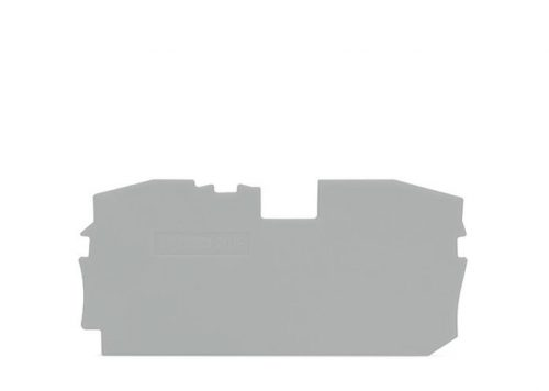 WAGO Krajnja i međuploča - debljine 1 mm - za kleme sa 2 provodnika - 2016-1291