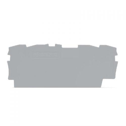 WAGO krajnja i međuploča - debljine 0.8 mm - za kleme sa 4 provodnika - 2002-1491