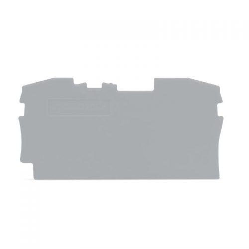 WAGO Krajnja i međuploča - debljine 1 mm - za kleme sa 2 provodnika - 2006-1291