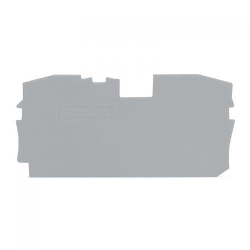 WAGO Krajnja i međuploča - debljine 1 mm - za kleme sa 2 provodnika - 2010-1291