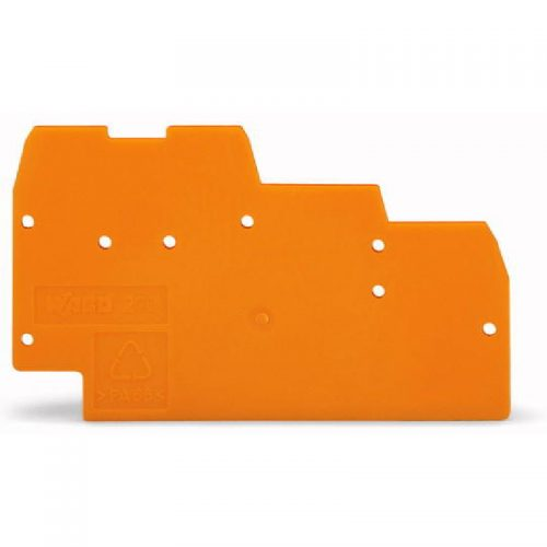 WAGO krajnja i međuploča - debljine 1mm - za 3-spratne kleme - 270-319