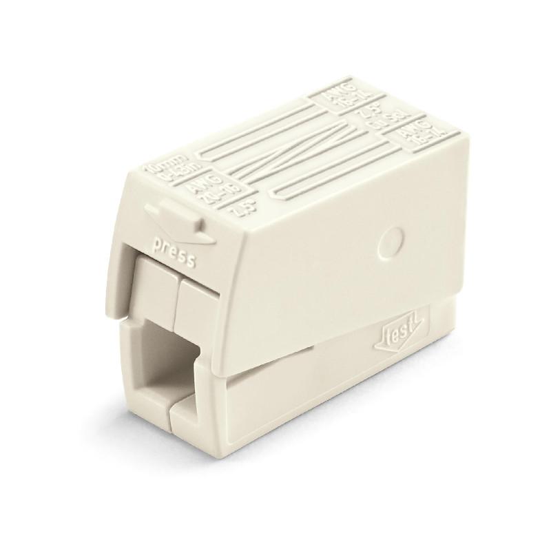 WAGO Kratkospojna klema za rasvetu - za 2-provodnika - Standardna verzija - Kontinualna radna temperature 105°C - 224-112