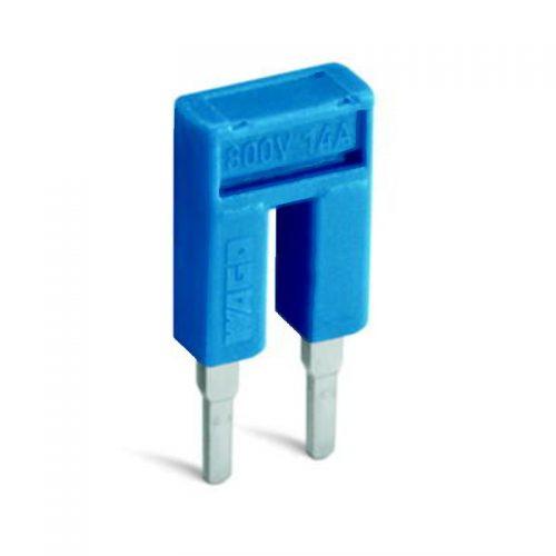 WAGO kratkospojnik za klemu 1 mm2 - push-in tipa - sa 2 mesta - nominalna struja 14 A - 2000-402/000-006