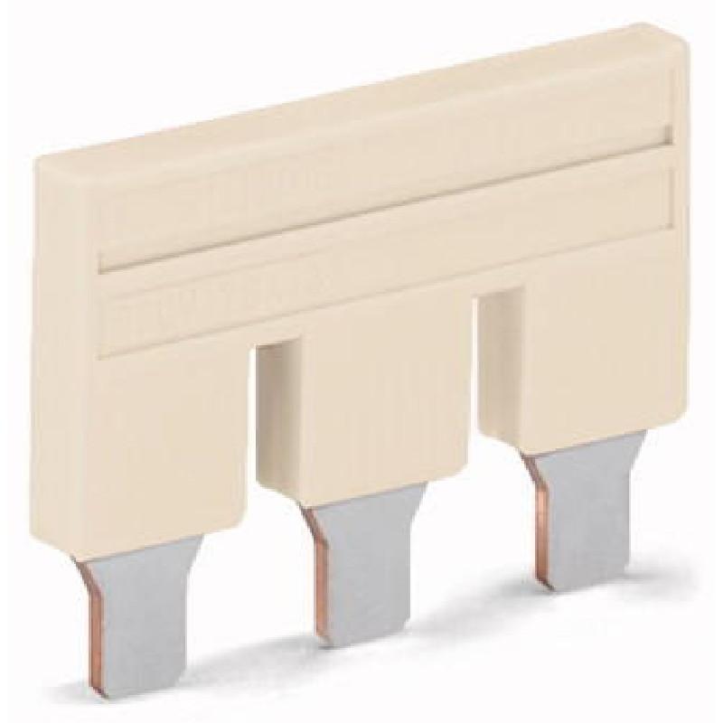 WAGO Kratkospojnik za klemu 10 mm2 - Push-in tipa; sa 2 mesta - Nominalna struja 57 A - 2010-402