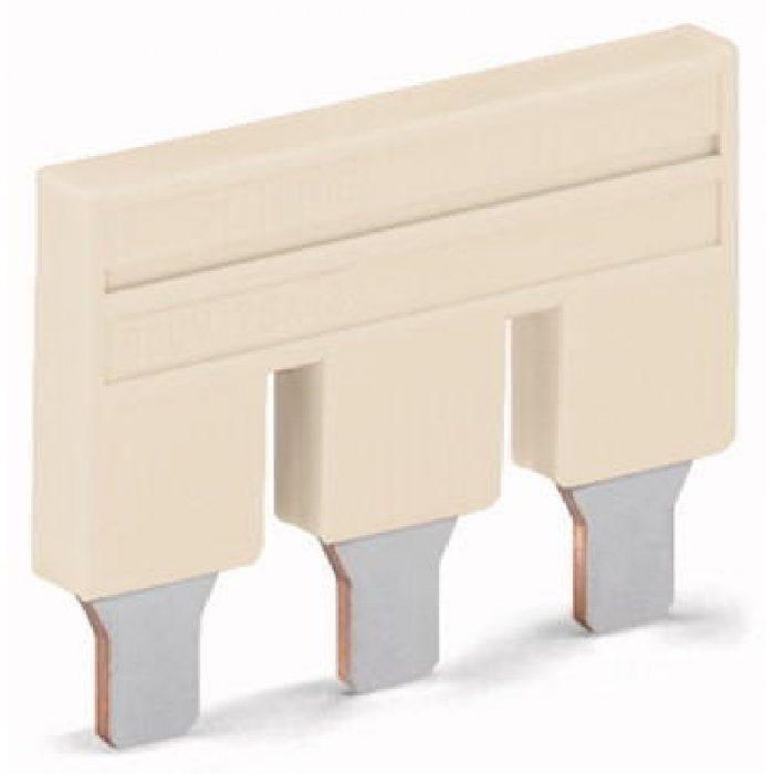 WAGO Kratkospojnik za klemu 10 mm2 - Push-in tipa - sa 3 mesta - Nominalna struja 57 A - 2010-403