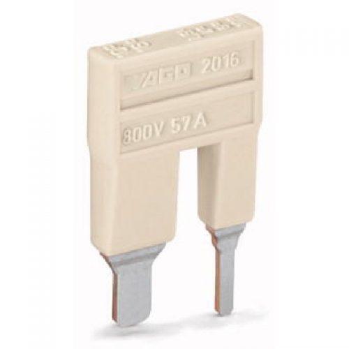 WAGO Prelazni kratkospojnik 16-10 mm2 na 10-6-4-2.5 mm2 - Push-in tipa - sa 2 mesta - Nominalna struja 57 A - 2016-499