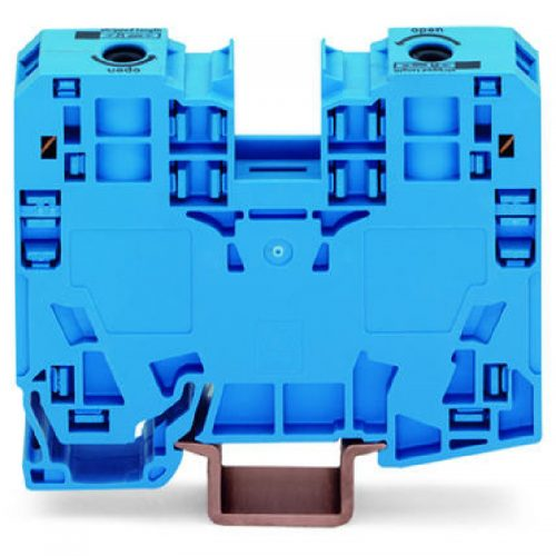 WAGO Visokostrujna klema; za 2-provodnika - 35mm2 - bočni slotovi za označavanje - Samo za DIN 35 x 15 šinu; 3.5 mm debljine - 285-134