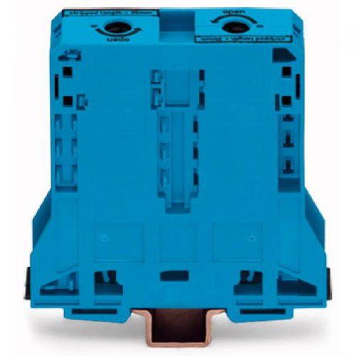 WAGO Visokostrujna klema - za 2-provodnika - 95 mm2 - bočni slotovi za označavanje - Samo za DIN 35 x 15 šinu - 2.3 mm debljine - 285-194