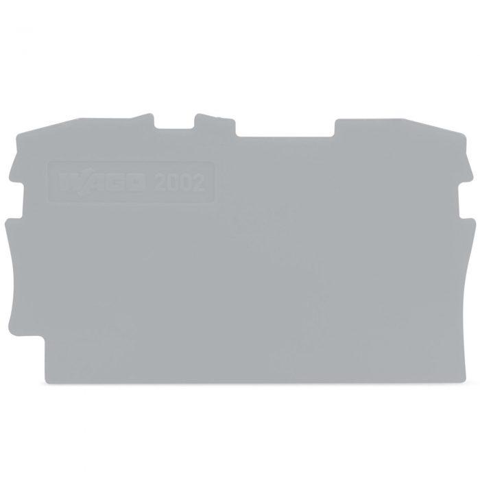 WAGO krajnja i međuploča - debljine 0.8 mm - za kleme sa 2 provodnika - 2002-1291