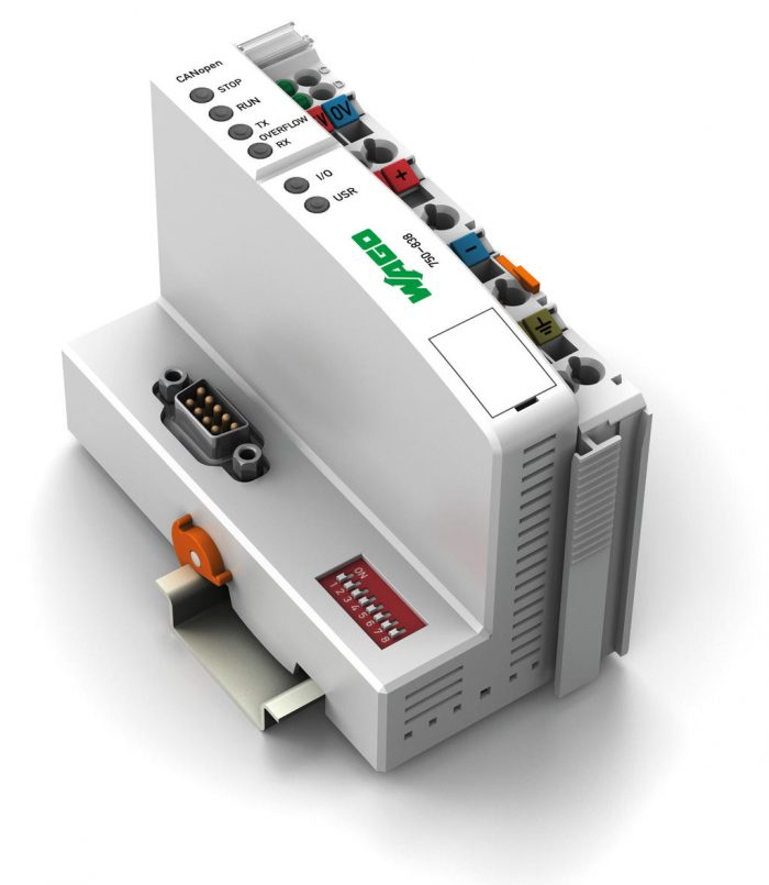 WAGO Kontroler CANopen - 128/64 KB Program/RAM - D-Sub - 750-838