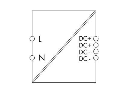 WAGO Svičersko (switched mode) napajanje - EPSITRON® COMPACT POWER - mono-fazno; 24 VDC / 4 A - 787-1022
