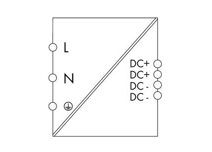 WAGO Svičersko (switched mode) napajanje - EPSITRON® ECO POWER - mono-fazno - 24 VDC / 5 A - 787-722