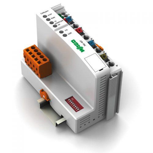 WAGO Kontroler CANopen - 128-64 KB Program-RAM - MCS - 750-837