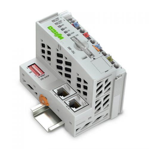 WAGO Kontroler Ethernet - 3-generacija - SD-kartica - 750-880