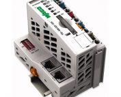 WAGO Kontroler Ethernet - 3-generacija - SD kartica, Media Redundancy protokol - za ekstremne temperature - 750-885-025-000