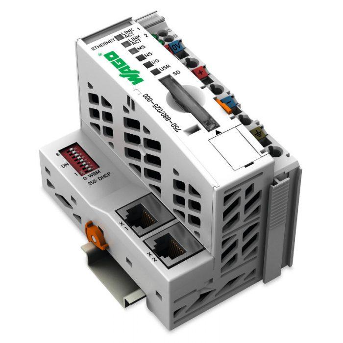 WAGO Kontroler Ethernet - 3-generacija - SD kartica - za ekstremne temperature - 750-880-025-000